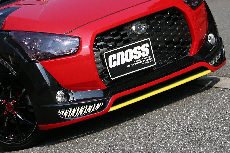 CROSS X-PLAY フロントアンダーフィン CB[CLA0022]LA400K
