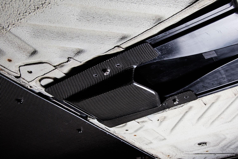 S660 レーシングフロアダクト カーボン製