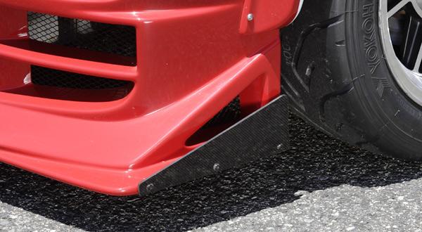 クロススタイルGT カプチーノ フロントバンパーカーボンフラップ[CGT0050]EA11R/EA21R