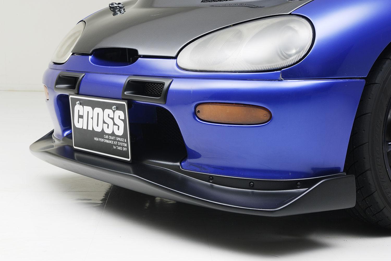 CROSS カプチーノ GTリップスポイラー[GTL0010]EA11R/EA21R