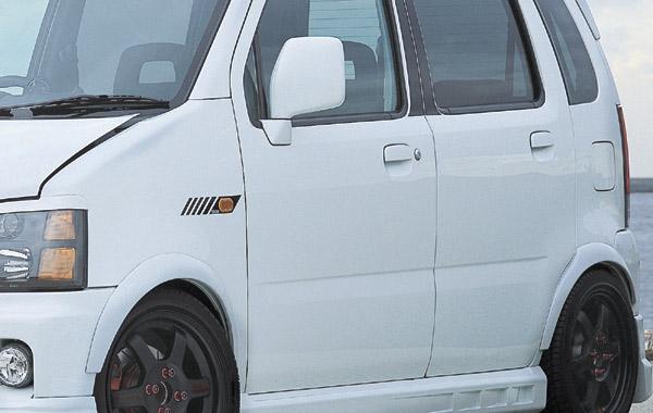 CROSS ワゴンR RR オーバーフェンダー[WMC0090]MC21S