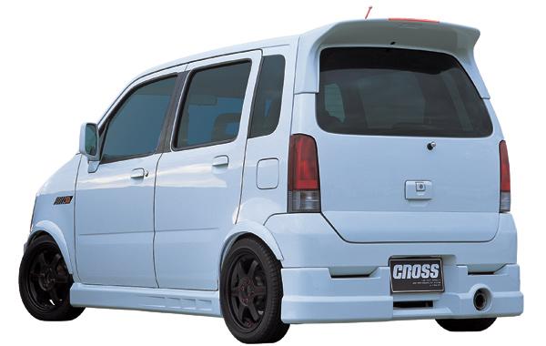 CROSS ワゴンR RR リアアンダースポイラー[WMC0030]MC21S