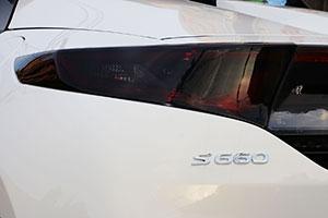 S660(JW5)テールレンズカバー スモーク系 RTC0090