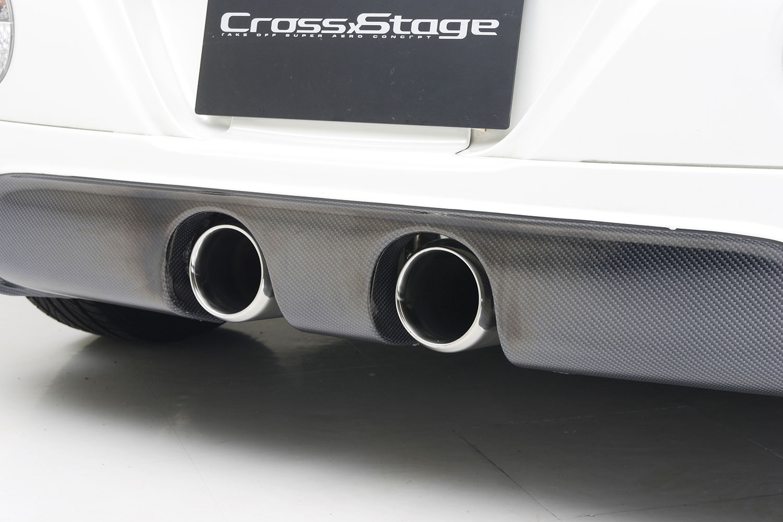 CROSS STAGE マフラー/クロスステージマフラーType2 for コペン(L880K) CSMF010