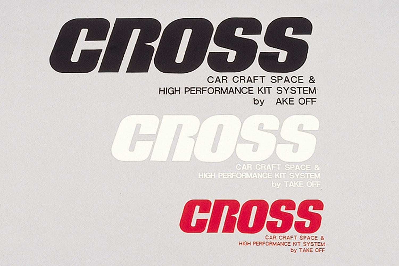 CROSS ステッカー S [STC0030]