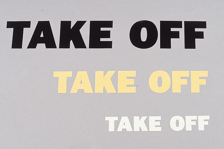 TAKE OFF ステッカー S [TST0030]