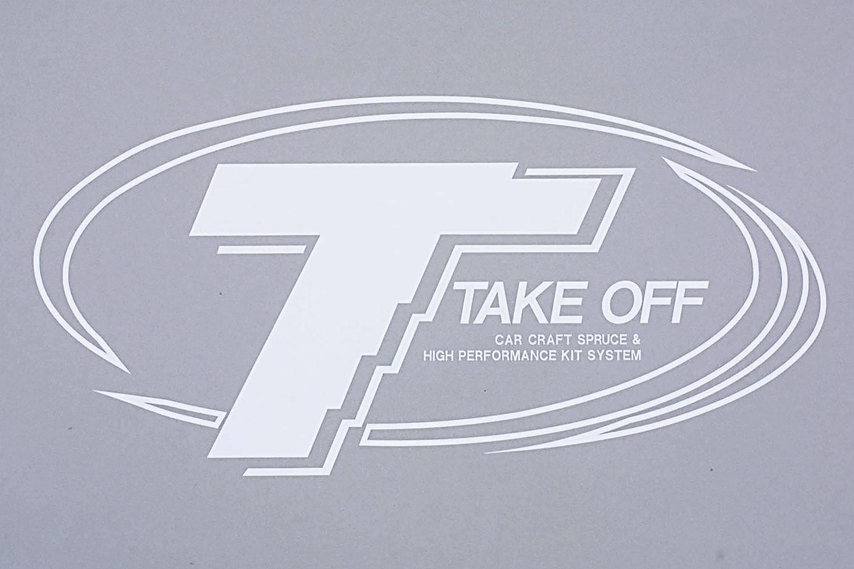 TAKEOFF ロゴステッカー S[TST0050]
