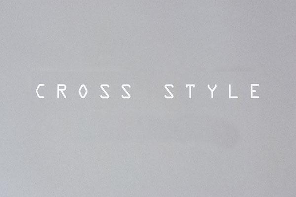 CROSS STYLE切り文字ステッカー/S[SCS0020]